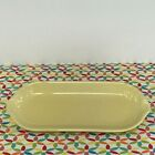Fiestaware Yellow Relish Tray Fiesta Retired Pale Yellow Corn on the Cob Tray