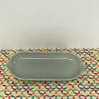 Fiestaware Pearl Gray Relish Tray Fiesta Retired Corn on the Cob Utility Tray
