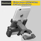 1x Titanium CNC Motorcycle Bike Handlebar Mount Phone Holder Bracket For iPhone