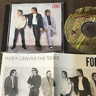 HUEY LEWIS & THE NEWS Fore! JAPAN 24k GOLD CD CP43-5775 w/PS+INSERT 4,300 JPY