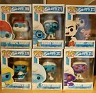 Funko Pop! Animation - Smurfs complete collection lot of 6