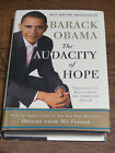 The Audacity of Hope Reclaiming the American Dream by Barack Obama AUTOGRAPHED