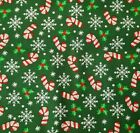 Trenas Little Bit Of Christmas 2010 BTY Trena Olsen General Fabrics Candy Cane