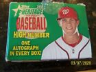 2012 Topps Heritage High Number Set SP # H650 Bryce Harper RC Only 1000 Made