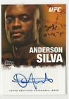 Anderson Silva Cards and Autographed Memorabilia Guide 19