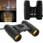 Black Vision Mini Binoculars 30 x 60 Zoom Outdoor Travel Folding Telescope Bag