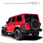NEW ITS A JEEP THING WRANGLER 16 INCH LONG BACK WINDOW STICKER DECAL
