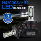 2PCS H4 9003 LED Headlight Bulb For Hyosung GT250R GT650R GV650 ST7 Deluxe 2012