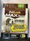 Pet Lock Max For Dogs Flea  Tick Treatment 4 Month Supply Med Dog 11 20lbs
