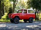 1977 Bronco 1977 Ford Bronco 6735 Miles Red White