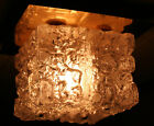 1799 RARE Vintage MURANO Glass Ceiling Sconce Light Lamp Fixture