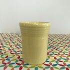 Fiestaware Yellow Tumbler Fiesta Retired Pale Yellow Small 6.5 oz Cup