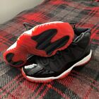 Nike Air Jordan 11 XI Playoffs Bred 2008 Mens Size 8 Black Red Authentic NEW