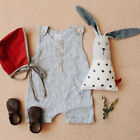 USStock Summer Infant Baby Boy Girl Cotton Soft Romper Jumpsuit Clothes Outfits