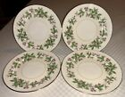 Set Of 4 Vintage Homer Laughlin Eggshell Georgian Square Bread Butter Plates