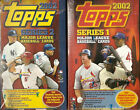 2002 Topps Factory Sealed 3-Box BB Hobby Lot (Series 1 & 2 & Update) Mauer RC ?