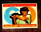 Nellie Fox Cards and Autographed Memorabilia Guide 15