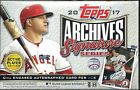 2017 Topps Archives Signature Series Hobby Box Mike Trout AUTO ??