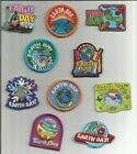 Girl Boy Scout Guides Patch Crest Badge EARTH DAY  your choice