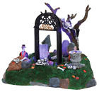 Lemax Halloween Spooky Town Village Collection Restless Tombstones