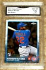 2015 TOPPS CHROME #24 ADDISON RUSSELL RC CUBS GRADED GEM MINT 10