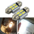 2x 31mm 4LED 5630 SMD Canbus Car Interior Festoon Map Dome Auto Light Bulb 6000K