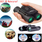 8X21 Compact Zoom Binoculars Range 3000m Folding HD Powerful Mini Telescope EN
