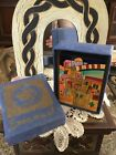 Yair Emanuel Hand Painted Salt And Pepper Shakers From Jerusalem In Box