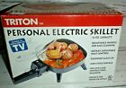 New Personal Electric Skillet Frypan Fry Pan Dorm Home Office Non Stick