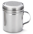 Popcorn Salt Shaker Professional Stainless Steel Dredge 10 Oz Seasoning Utensils