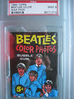 1964 Topps Beatles Color Wax Pack PSA 9 Mint
