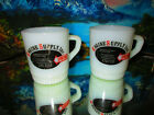 2 Engine Supply Inc./Spartan Advertising Mugs ~ Anchor Hocking ~ Fire King Cups