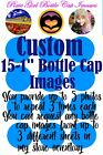 CUSTOM Your Photos Your Ideas or From my Inventory 15 1Precut Bottle Cap Images