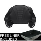 King Tour PAK Pack Trunk Backrest Pad W Speakers For Harley Touring 2014 2019