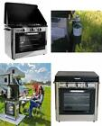 Camping Outdoor Oven with 2 Burner Stove Cooks for up to 5 hours on high heat