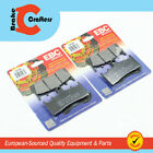 FOR 1993 - 1998 SUZUKI GSX-R1100W - FRONT EBC ORGANIC BRAKE PADS - 2 PAIR