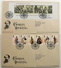 Pair Of Royal Mail Tallents House Charles Dickens 2012 Stamp First Day Covers