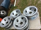 OEM Ford Set Of 4 Factory Wheels 15 x 75 f150 bronco e150 5 1 2 bolt 80s 90s