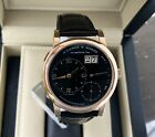 A.Lange & Sohne Lange One(1)18K Rose Gold 38.5mm Watch-101.031- Box/Papers-
