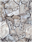 3D Peel and Stick Faux Stone Brick Wallpaper Self Adhesive Contact Paper Roll