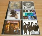FOUR AOR Rock Band CDs -  MR BIG / SAVATAGE / NUCLEAR VALDEZ - All 1st Pressings