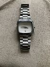 Nixon The Player Stainless Steel White Face Japan Movt 10F