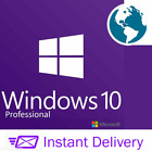 Microsoft Windows 10 PRO PROFESSIONAL 64Bit OEM FULL VERSION