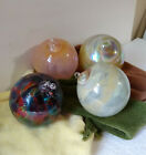 4 Friendship Kugel Suncatcher Spirit Glass Balls