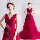 Noble Evening Formal Party Ball Gown Prom Bridesmaid Sequins Tail Dress TSJY8191