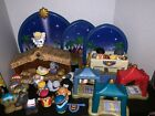 Fisher Price Little People Christmas Nativity Manger Play Set Inn Wise Men Bible