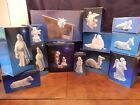 Avon White Porcelain Nativity Set 20 Pieces