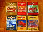 (6) Wings of Texaco Limited Edition diecast airplanes with original boxes