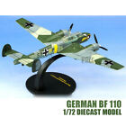 WWII German Bf 110 1 72 diecast plane model aircraft IXO