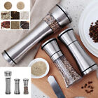 US Stainless Steel Muller Manual Pepper Salt Spice Mill Grinder Kitchen Tools